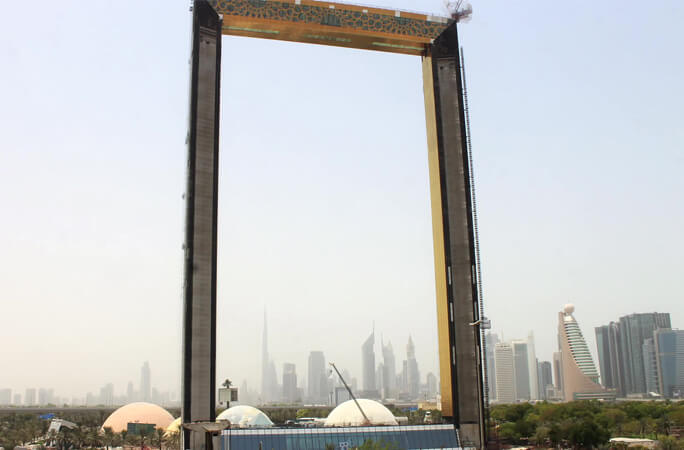 Dubai municipality sets a world record with the Dubai Frame