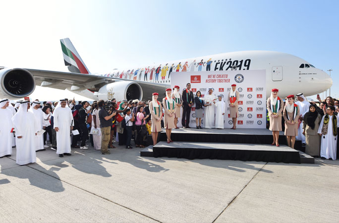 Emirates-airlines-celebrated-both-the-National-Day-and-the-UAE-Year-of-Tolerance-by-breaking-a-record