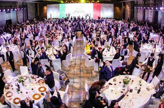 A record for the largest pasta tasting event