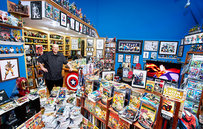 Largest collection of comic books